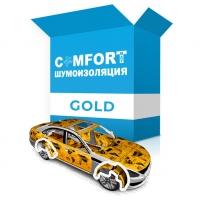 Комплект для полной шумоизоляции авто Gold
