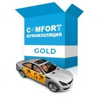 Комплект для шумоизоляции дверей авто Gold